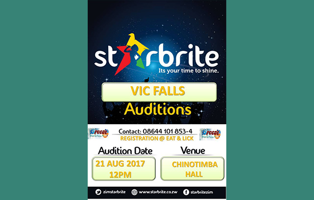 Vic Falls 2017 Auditions